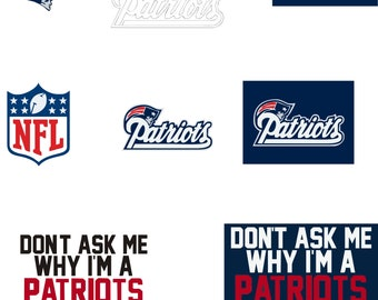 New England patriots svg logo