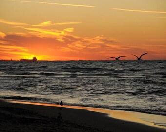 Chicago Lakeshore at Sunrise