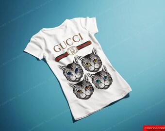 WOMEN Gucci t-shirt women's lady white T-shirt Gucci logo Shirt for her Gucci Tee The making of Gucci Clothing women T-Shirt for her Gucci21