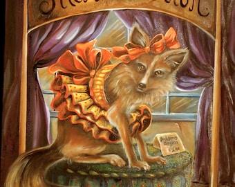 Fox Print - Silent Auction
