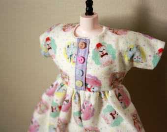 Bitter Squeaks x Dear Girlface Pastel Toy Chest Doll Dress for Blythe