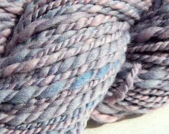 Cochineal & Indigo-Natural Dye Handspun Yarn