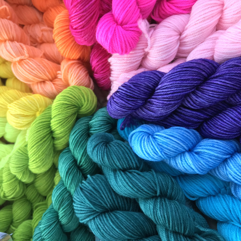 mini skein colors