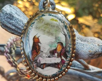 If I can not fly Necklace