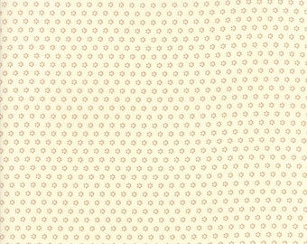 Hazel and Plum - Posies in Cream: sku 20294-17 cotton quilting fabric by Fig Tree and Co. for Moda Fabrics