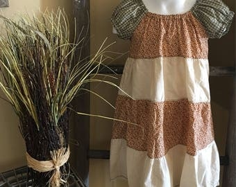3T/4T  Peasant style girls dress