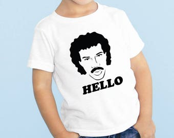 Lionel Richie Hello Baby or Toddler Gift Set T-Shirt & Optional Gift Box