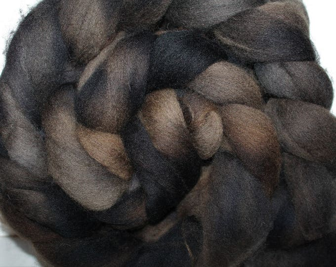 Kettle Dyed Cheviot Wool Top.  Easy to spin.  Great for felting. 1lb. Braid. Spin. Felt. Roving. C112