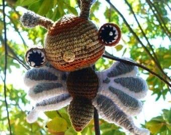 Summer Sale Fluttering Butterfly Crochet Pattern PDF