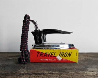 Vintage Seiko Folding Travel Iron
