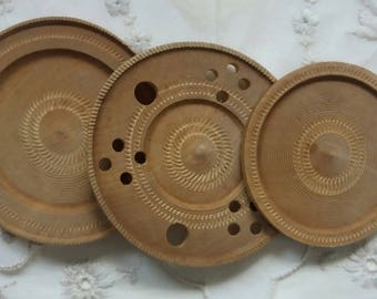 Vintage Dollhouse Wooden trays