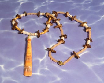 Lion's Paw Shell Necklace #5