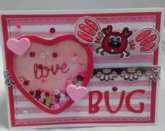 Love Bug Valentine Card