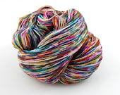 Wonder Sock yarn - Graffiti - 465 yards 100 grams- 72/25 Superwash Blueface wool and Nylon