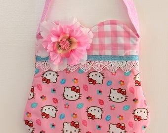 Hello Kitty Picnic purse, girls purse, toddler purse,