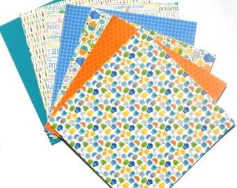Hip Hip Hooray - 6x6 Doodlebug Design Paper Pack - LAST SET