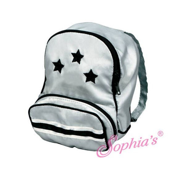 Silver Star Backpack - 18 Inch Dolls