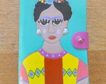 Notepad with Frida Kahlo