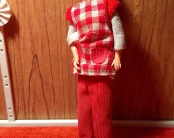 """Lundby Dollhouse Woman 3/4"""" scale"""
