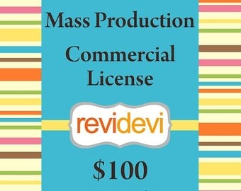 35% OFF SALE Revi Devi Mass Production Commercial License - For 1 set of cliparts