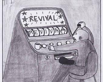 Gambling on Revival CARTOON