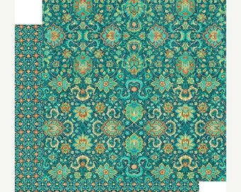 NOW ON SALE Graphic 45 Midnight Masqerade Deliciously Decadent Scrapbook Paper