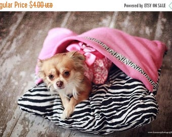 SALE Peekaboo Beds for cats dogs Whimsy Couture Sewing Pattern Tutorial  PDF