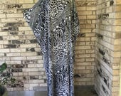RESERVED FOR DIANE   Plus Size Lightweight Rayon Caftan
