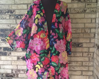 Plus Size Poly Blend Summer Shrug