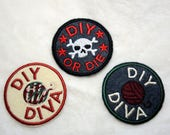 """Style Choice - Machine Embroidered 2.5"""" Patch Adult Crafting DIY Merit Badge Iron On"""
