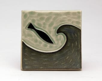 Fish and Wave- 3x3 tile- Ruchika Madan