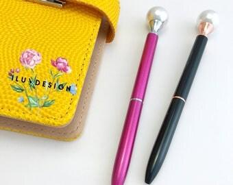 Pearl Ballpoint Pen • Pearl Pen • Cute Pen
