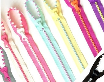 SALE Fun! Lecien Jelly Beads Zipper, Pick Color, slider & pattern for pocket tote bag