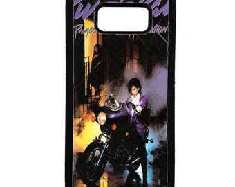 Prince purple the revolution rain  Samsung galaxy s8, s6, s7, 6 edge, 7 edge, 8 plus. note 8, note 5