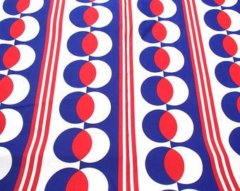 vintage fabric / original 60s fabric / Lucca / design / curtain fabric / home decor / graphic fabric