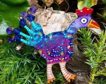 01 folk art chicken 771
