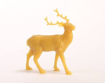 Antelope - Reindeer - Set of 8 - Dollhouse Minis dollhouse cat diorama craft jewelry project miniature animals  - 201-162-2