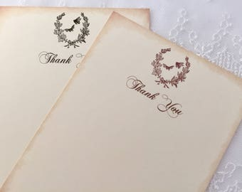 Bee Bridal Shower Thank You Cards, Honey Bee Thank You Cards, Set of 10