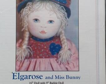 Kezis Oregon Ragbabies Cloth Doll Pattern Elgarose