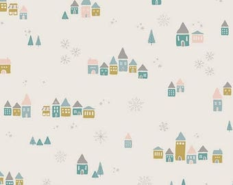 15%OFF Little Town  - Snowdrift Magic by Amy Sinibaldi for Art Gallery Fabrics