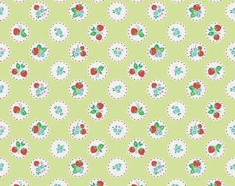 20EXTRA 25% OFF Elea Lutz Strawberry Biscuit Scallop Green
