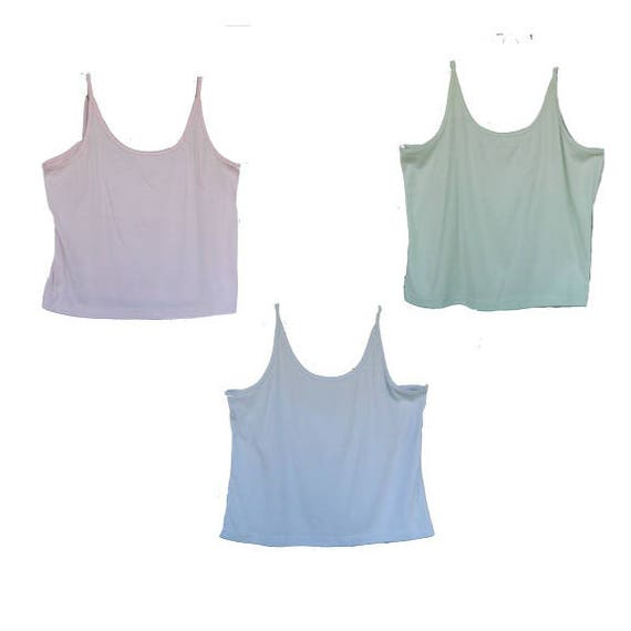 Lord & Taylor Cotton Camisole Tanks -3X- Choice of Colors