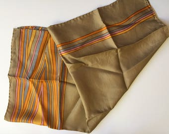 Beautiful Vintage Silk Scarf