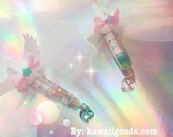 Love syringe 2-way clip, Menhera Kei Clip, Medical Clip ver.1