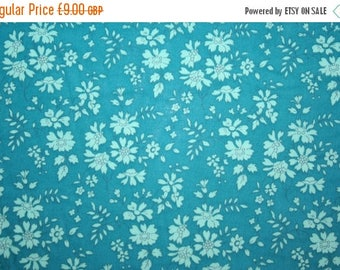 """SUMMER SALE Special offer! Liberty Tana Lawn """"CAPEL"""" teal 0.50 metre"""