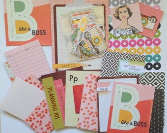 Like A Boss - The Reset Girl Kit, Planner Kit, Art Journaling, Snail Mail, Card Making