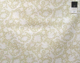 Victoria and Albert Clothworkers PWVA044 Lace Lea Cotton Fabric By Yard