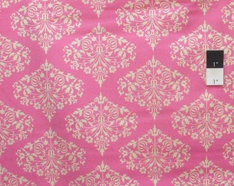 ON SALE Amy Butler AB24 Midwest Modern Park Fountain Fuchsia Cotton Fabric By Yard