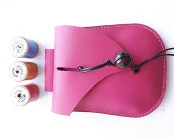 JINKS Belt Pouch, Hip bag #3353 lipstick pink