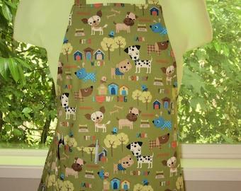 aprons for kids - kids aprons - good dog